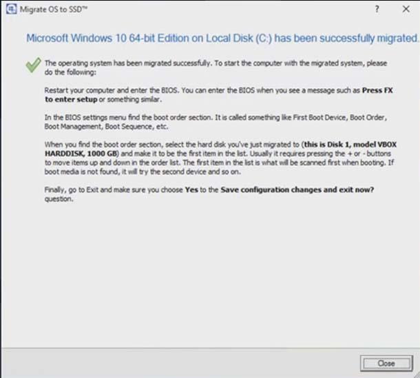 Как клонировать Windows 10 на новый жёсткий диск.