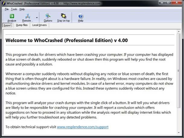 Настройка дампа памяти в Windows 10/8/7.
