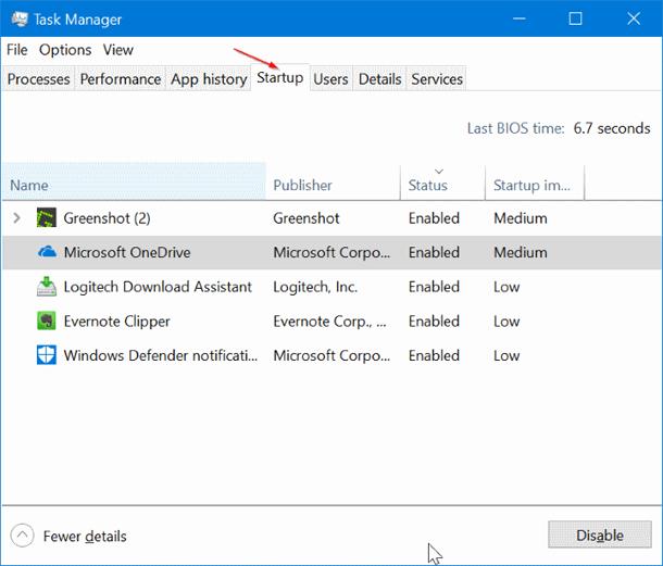 Какие программы снижают скорость загрузки Windows 10.