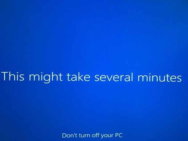 Ремонт Windows 10 без потери приложений и данных.