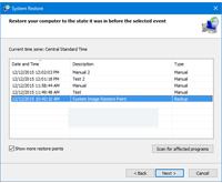Как удалить точки восстановления в Windows 10.