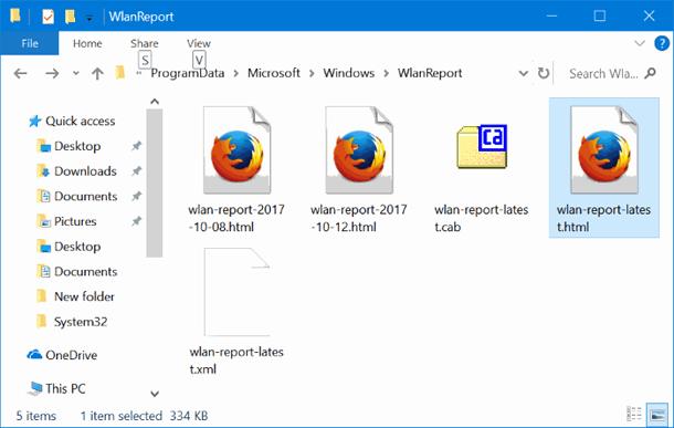 Как создать отчёт об истории WiFi в ОС Windows 10.
