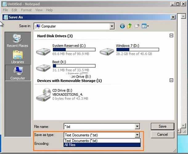 Резервное копирование данных без загрузки в Windows.