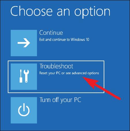 Три способа доступа к меню варианты загрузки Windows 10.