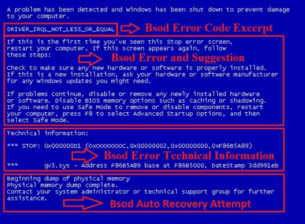 Как исправить синий экран ошибка дамп памяти в Windows?