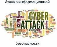 Атака в информационной безопасности.
