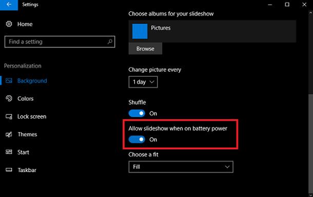 Исправление: слайд-шоу не работает в Windows 10.
