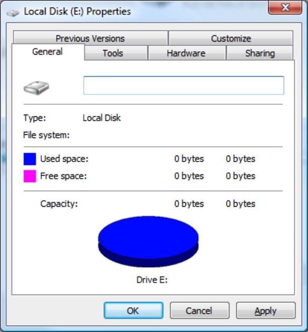 Как восстановить данные с диска RAW?