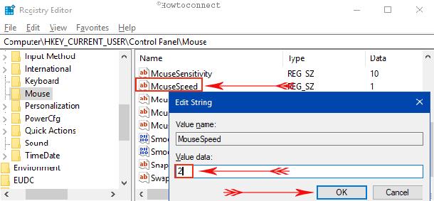 Как изменить чувствительность мыши на Windows 10.