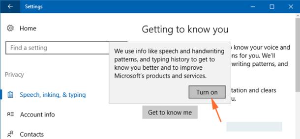 Как включить Cortana Windows 10.
