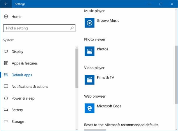 Медиа-проигрыватель VLC для Windows 10.